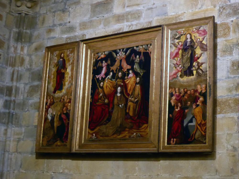 El tríptico de Santa María de Portugalete