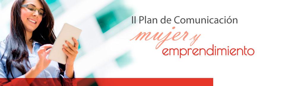 II Plan Comunicación Mujer y emprendimien