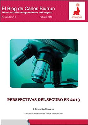 Perspectivas del seguro en 2013