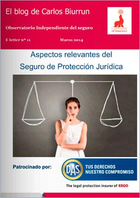 eLetter 11 Aspectos relevantes del Seguro de Protección Jurídica